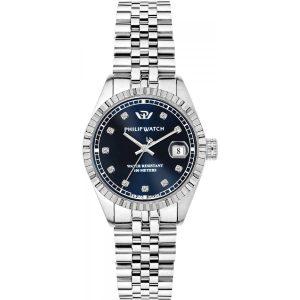 """Orologio Philip Watch Donna Solo Tempo Con Diamanti """"Caribe"""" R8253597537"""