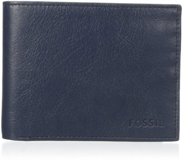 "Portafogli Fossil Uomo ""Truman Large Coin Pocket Bifold Navy"" ML3577400"