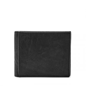 "Portafogli Fossil Uomo""Ingram RFID Large Coin Pocket Bifold Black ML3781001"