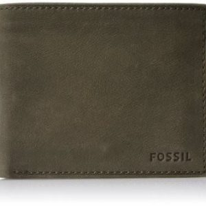 "Portafogli Fossil Uomo""Nova Small Coin Pocket Bifold Brown"" ML3437200"