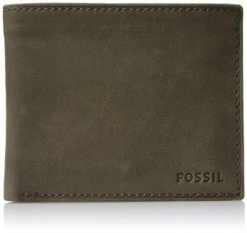 """Portafogli Fossil Uomo""""Nova Small Coin Pocket Bifold Brown"""" ML3437200"""