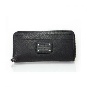 "Portafogli Fossil Donna ""Mercer Zip Clotch Black"" SL2831001"