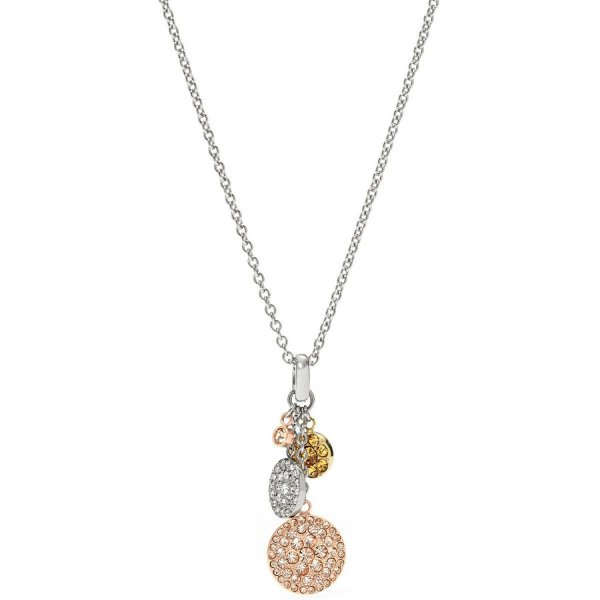 "Collana Fossil Donna ""Pavè Disk Ext"" JF00848998"
