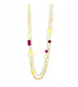 """Collana Essesteel Jewels Donna """"Stone Collection"""" SCCOL003-56"""