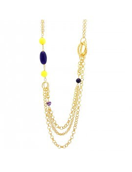 """Collana Essesteel Jewels Donna """"Stone Collection"""" SCCOL005-56"""