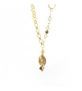 """Collana Essesteel Jewels Donna """"Stone Collection"""" SCCOL010-56"""