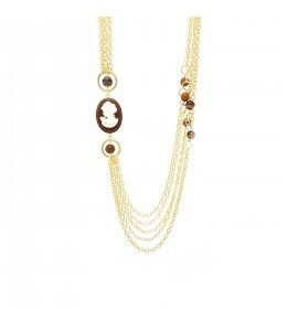"""Collana Essesteel Jewels Donna """"Stone Collection"""" SCCOL014-56"""