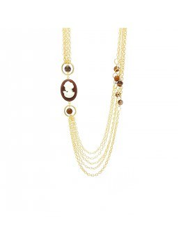 "Collana Essesteel Jewels Donna ""Stone Collection"" SCCOL014-56"