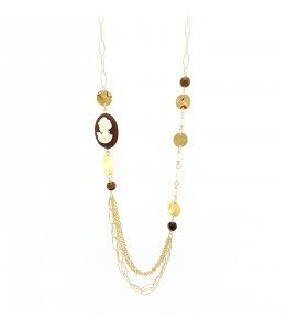 """Collana Essesteel Jewels Donna """"Stone Collection"""" SCCOL015-56"""
