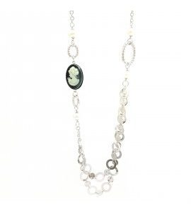 """Collana Essesteel Jewels Donna """"Stone Collection"""" SCCOL016-56"""