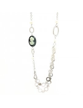 "Collana Essesteel Jewels Donna ""Stone Collection"" SCCOL016-56"