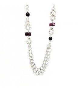 """Collana Essesteel Jewels Donna """"Stone Collection"""" SCCOL017-56"""