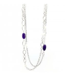 """Collana Essesteel Jewels Donna """"Stone Collection"""" SCCOL018-56"""