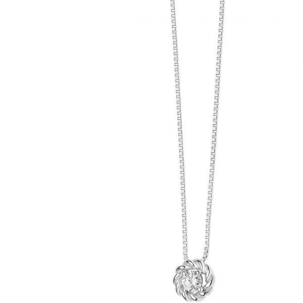 """Collana Donna Comete Gioielli """"Punti Luce"""" in oro 750/00 e diamanti GLB 1370"""