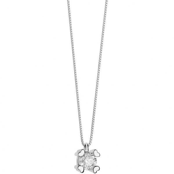 """Collana Comete Gioielli """"Punti Luce"""" in oro 750/00 e diamanti GLB 1450"""