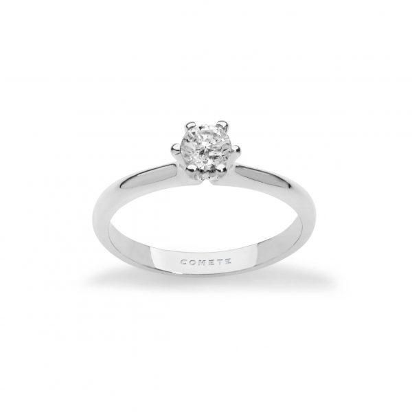 Anello Solitario Griff Comete Gioielli in oro 750/00 e diamante ANB 2081