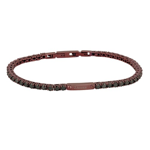 "Bracciale 2Jewels Uomo""Tennis Club"" 231405"