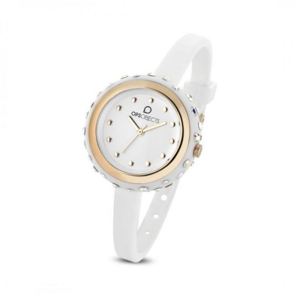 """Orologio Ops Objects Donna Solo Tempo """"Bon Bon Crystall"""" OPSPW-335-3100"""