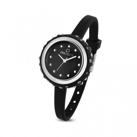 """Orologio Ops Objects Donna Solo Tempo """"Bon Bon Crystall"""" OPSPW-438-3100"""