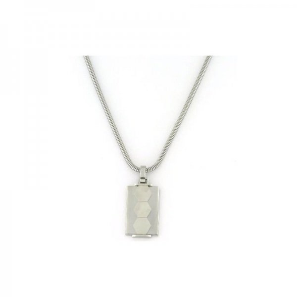 "Collana 2Jewels Uomo ""Hexagon"" 251332"