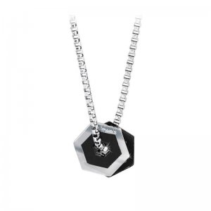"Collana 2Jewels Uomo ""Hexagon"" 251331"