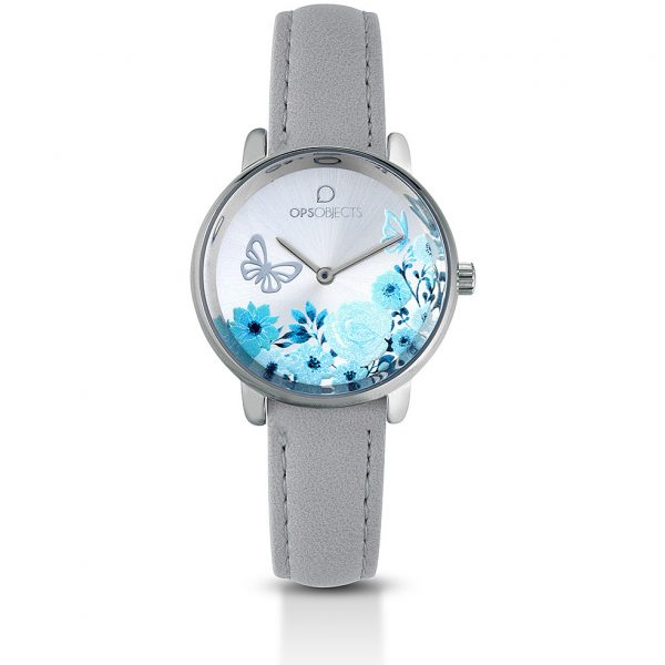 "Orologio Ops Object Donna Solo Tempo ""Bold Flower"" OPSPW-557"
