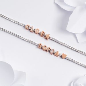 """Componibile Kulto 925 Charm Donna """"Always With Me"""" Lettera """"V"""" KC925-022"""