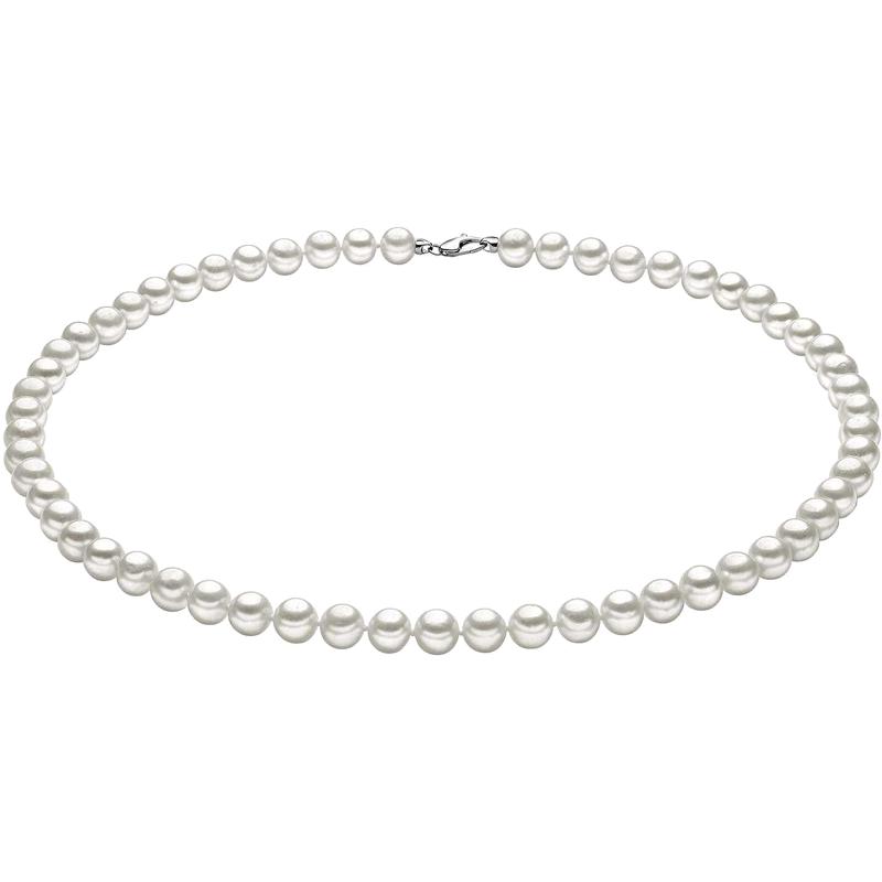 collana girocollo comete gioielli perle fresh water
