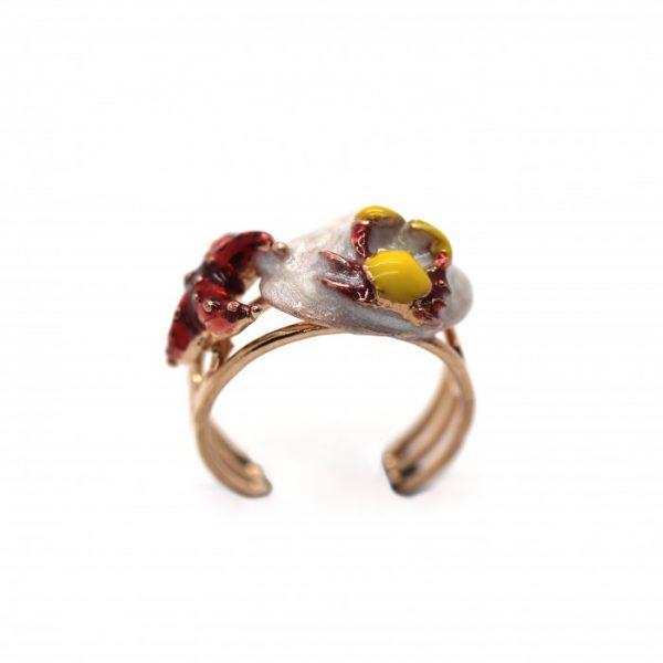"""Anello Donna Caretta Caretta Jewelry """"Marea D'argento"""" C10"""