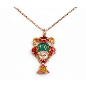 """Collana Uomo Donna Caretta Caretta Jewelry """"Scrigno"""" D02"""