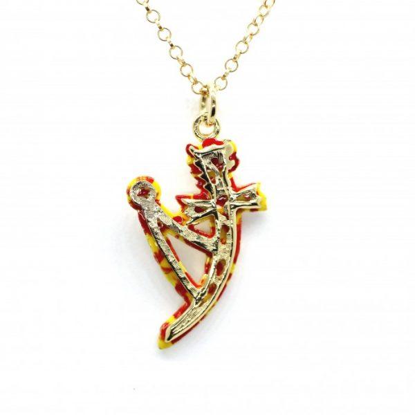 """Collana Donna Uomo Donna Caretta Caretta Jewelry """"Barocco Siciliano"""" AD30"""
