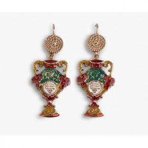 """Orecchini Donna Caretta Caretta Jewelry """"Scrigno"""" D03"""