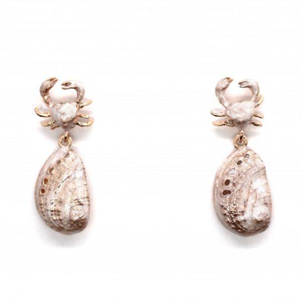 """Orecchini Donna Caretta Caretta Jewelry """"Marea D'Argento"""" C67"""