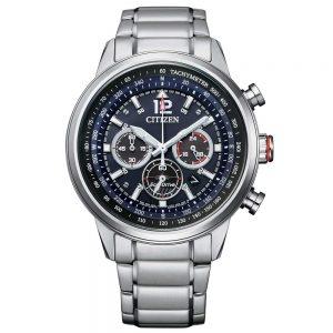"""Orologio Citizen Uomo Cronografo Eco-Drive """"Aviator"""" CA4471-80L"""