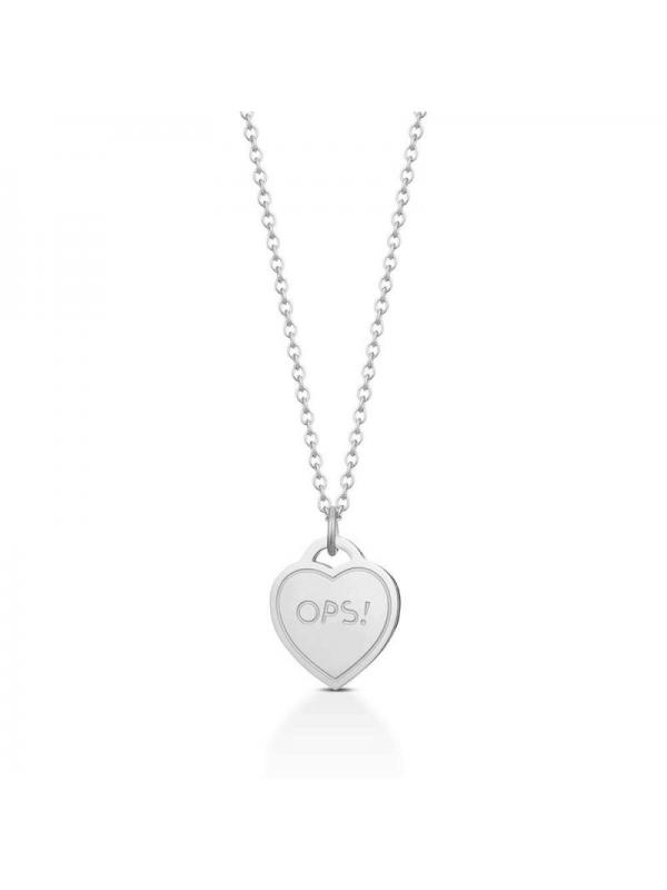 """Collana Ops Objects Donna """"Paint Silver"""" OPSCL-442"""