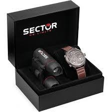 """Orologio Sector Solo Tempo Uomo Trialtime """"Traveller"""" R3251504003"""