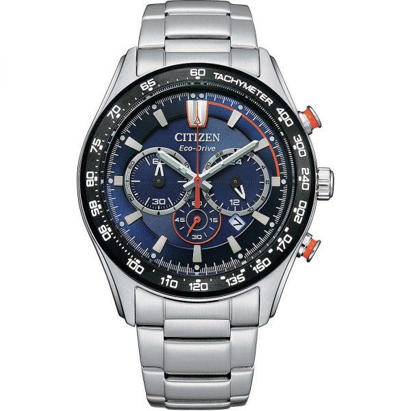"""Orologio Citizen Uomo Cronografo Eco-Drive """"Crono Sport"""" CA4486-82L"""