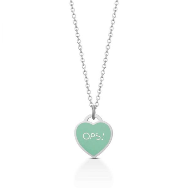 """Collana Ops Object Donna """"Paint Silver"""" OPSCL-483"""