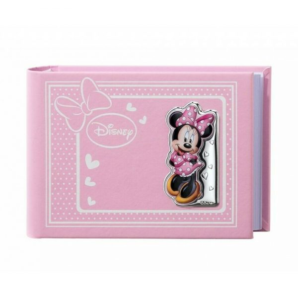 "Album Valenti Argenti Disney ""Minnie Topolina"" Bambina D301 1RA 13X18 CM"