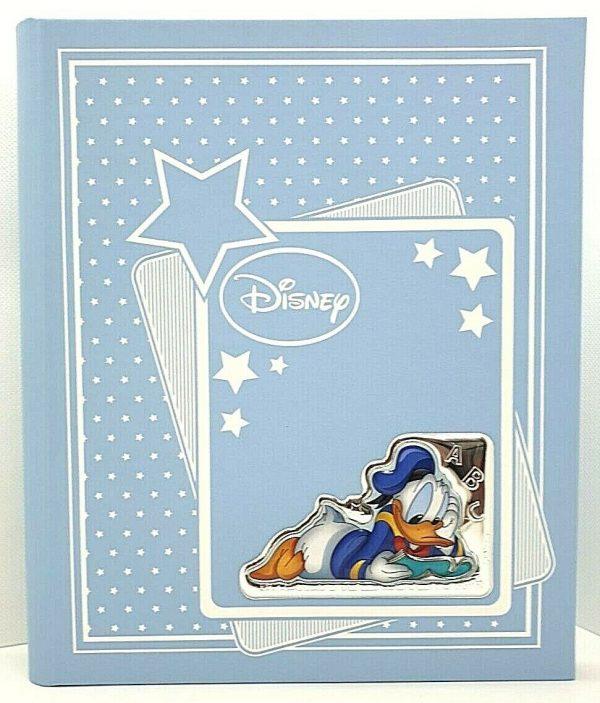 "Album Portafoto Valenti Argenti Disney Bambino ""Paperino"" D306 2C9"