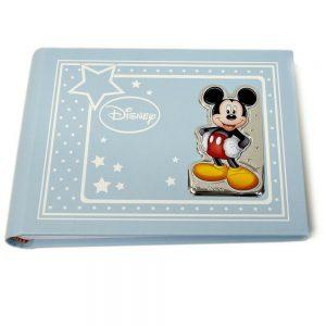 """Album Valenti Argenti Disney """"Michey Mouse Topolino"""" Bambino D296 1C 13X18 CM"""