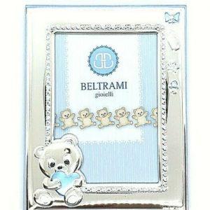"""Cornice Portafoto Beltrami Bambino """"Orsetto"""" 3696/3 9x13 cm"""