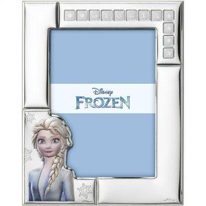 "Cornice Portafoto Valenti Argenti Disney Bambina ""Elsa-Frozen"" D425 4L"