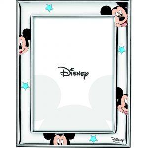 """Cornice Portafoto Valenti Argenti Disney Bambino """"Michey Mouse"""" D474 4LC"""
