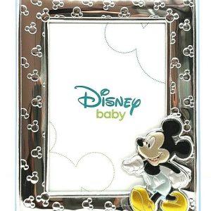 """Cornice Portafoto Valenti Argenti Disney Bambino """"Michey Mouse"""" 136DN 3C"""