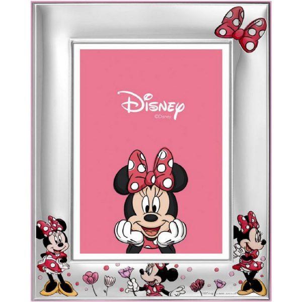 "Cornice Portafoto Valenti Argenti Disney Bambina ""Minnie"" 147DN 4RA"