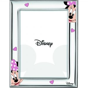 "Cornice Portafoto Velenti Argenti Disney Bambina ""Minnie"" D483 4LRA"