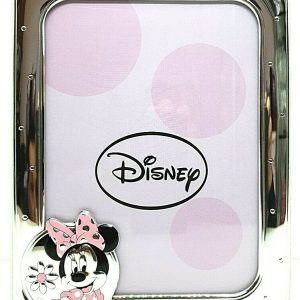 "Cornice Portafoto Valenti Argenti Disney Bambina ""Minnie"" D155 4LRA"