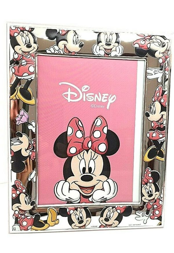 "Cornice Portafoto Valenti Argenti Disney Bambina ""Minnie"" 145DN 4LRA"