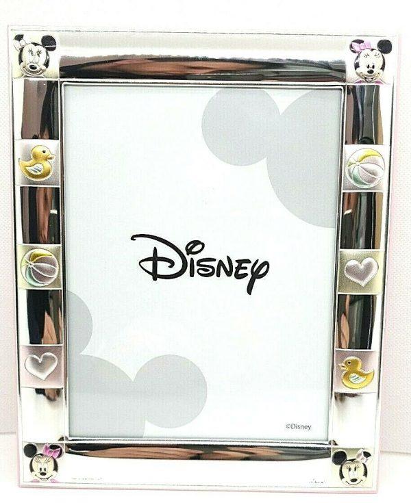 "Cornice Portafoto Valenti Argenti Disney Bambina ""Minnie"" D138DN 4RA"